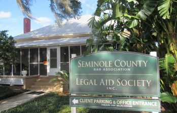 a street view of the Seminole County Legal Aid office